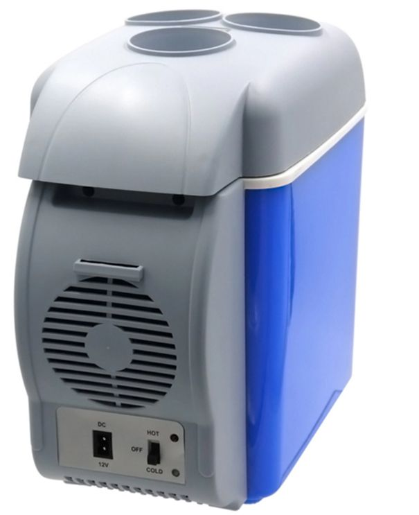 Mini Geladeira Cooler Veicular 2 em 1 Esfria e Aquece Portatil Carro Viagem 7,5L (888407 / mc40343)