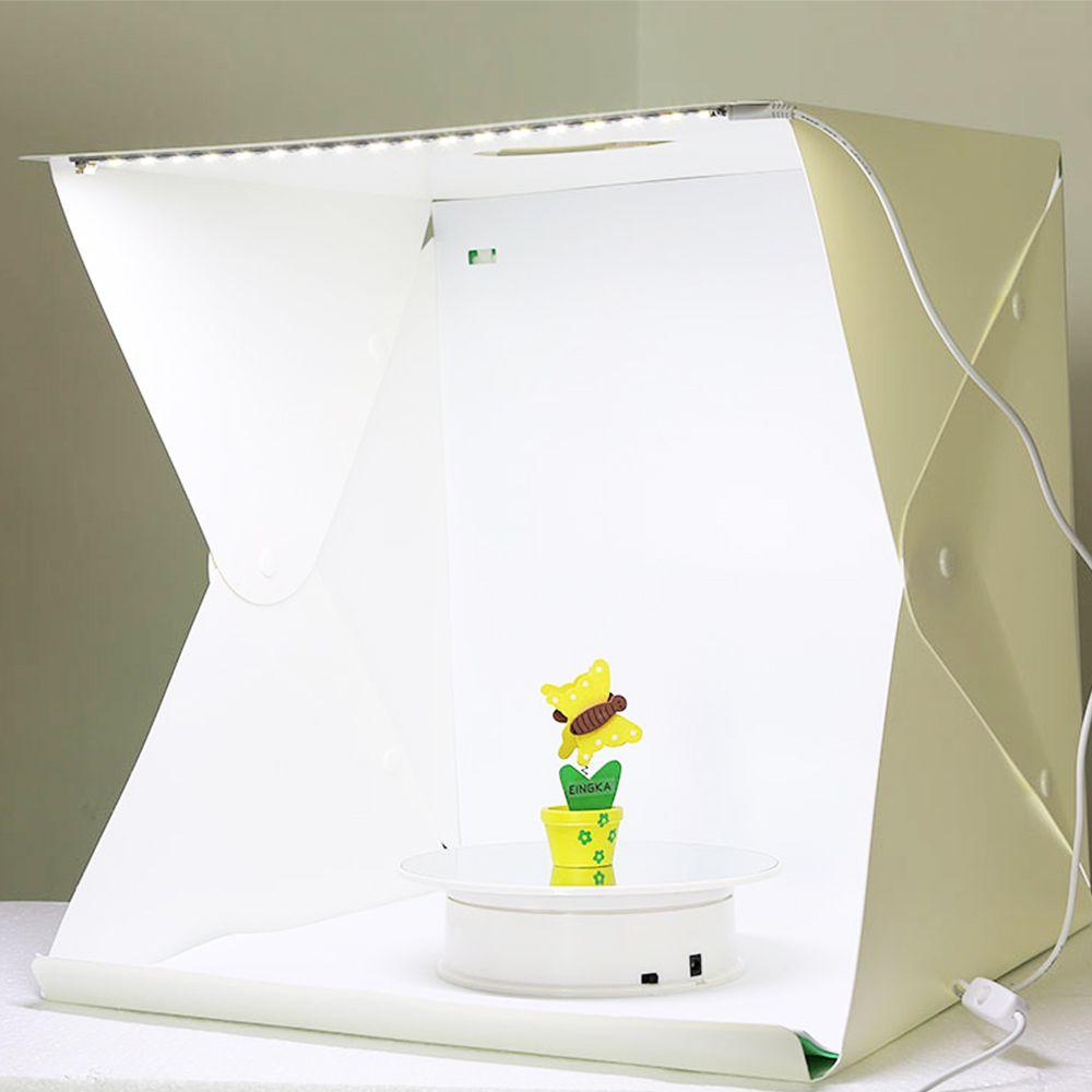 Mini Estudio Fotografico Caixa de Foto Profissional LED Youtuber Comercio Produtos Empresa Light Box Still