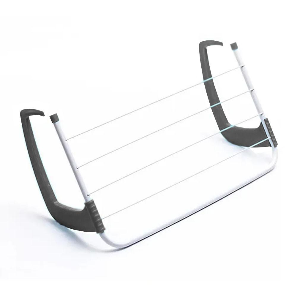 Mini Varal Portatil Secador de Roupas Janelas Varanda Porta Box Banheiro Lavanderia