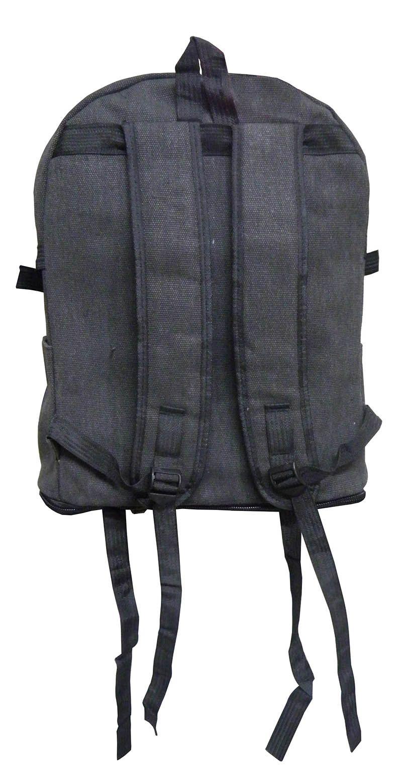 Mochila Bag Preta Escolar Adulto Juvenil Trabalho (ML1027)