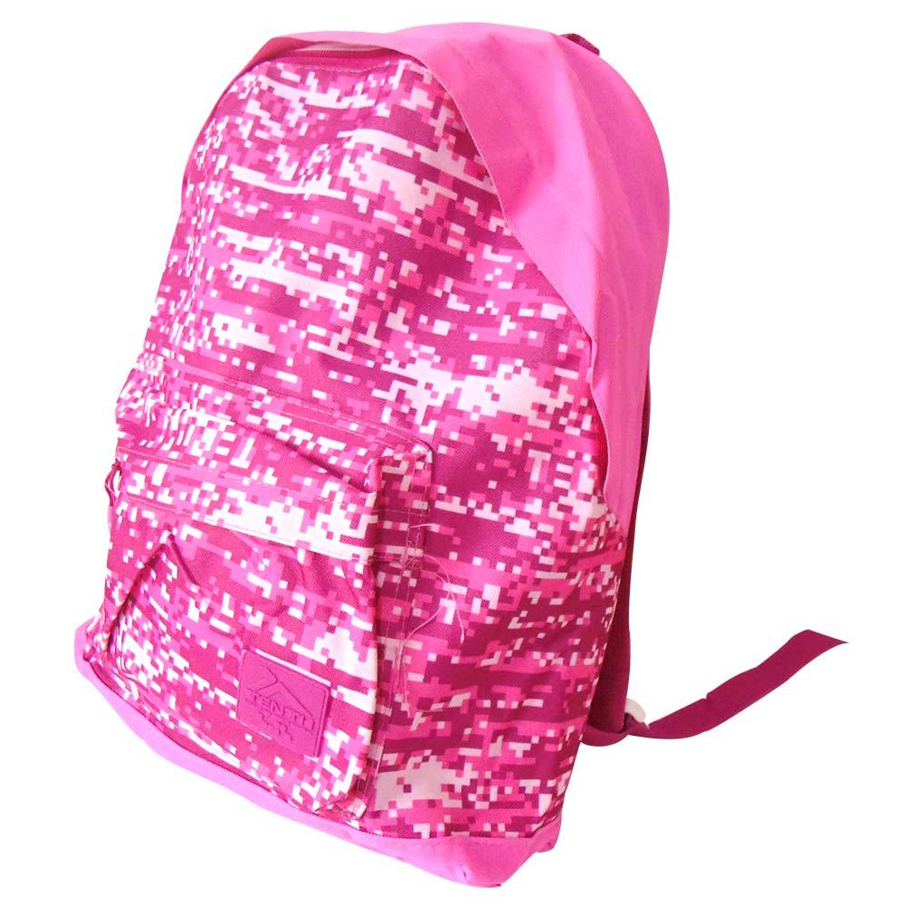 Mochila Feminina Escolar Casual Infantil Estampada Juvenil Rosa (JA90513)