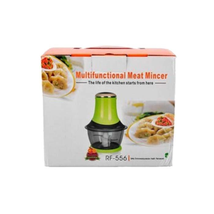 Moedor de Carne Eletrico Multifuncional Portatil 127V Pratico Verde (82127)