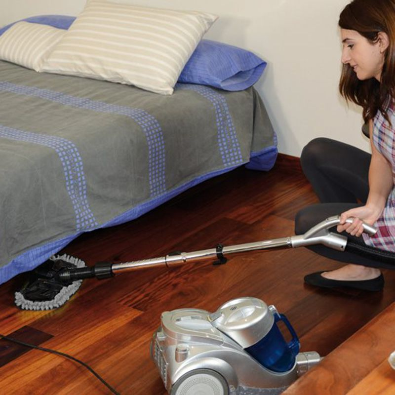 Mop Acessorio Limpeza Aspirador de Po 2 em 1 Vacuo Arrumacao