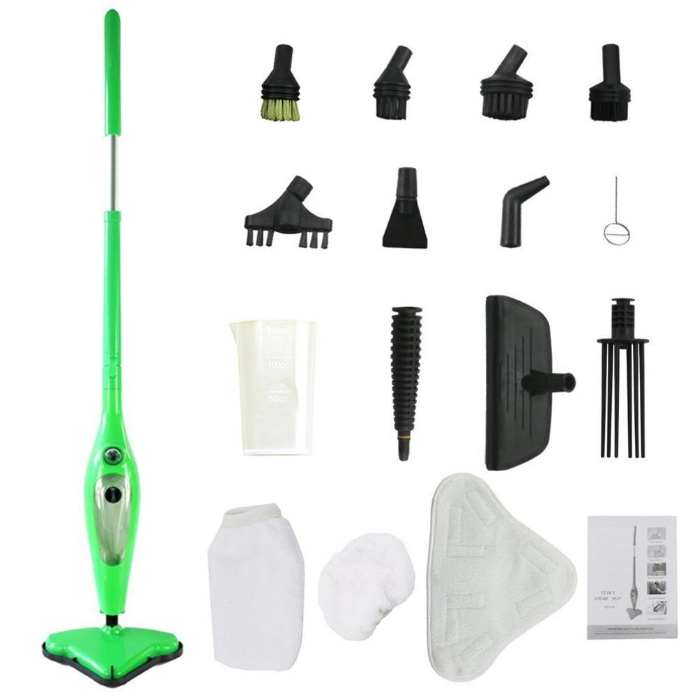 Mop X12 Vaporizador Limpeza A Vapor Limpa 12 Em 1 H2o 110v