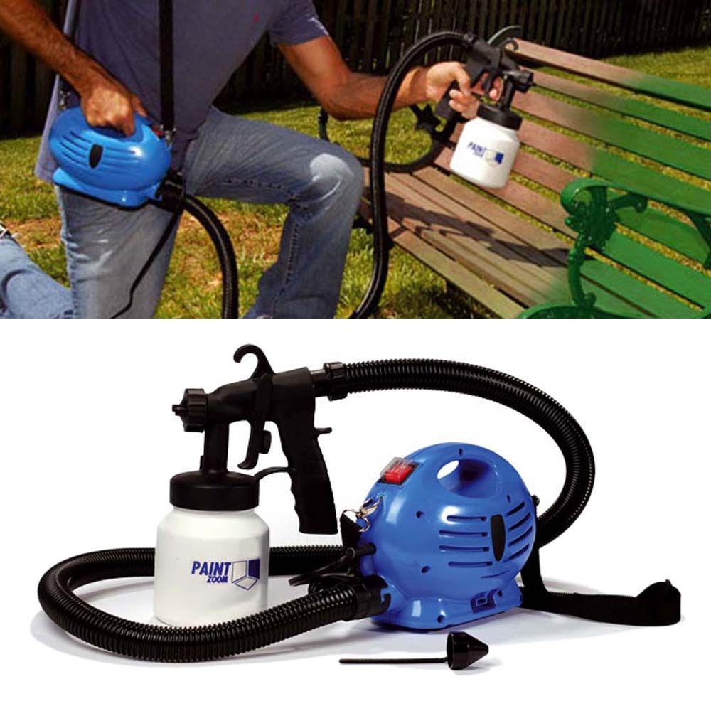 Paint zoom pistola pintura compressor pulverizador parede - Pistola pintura compresor ...