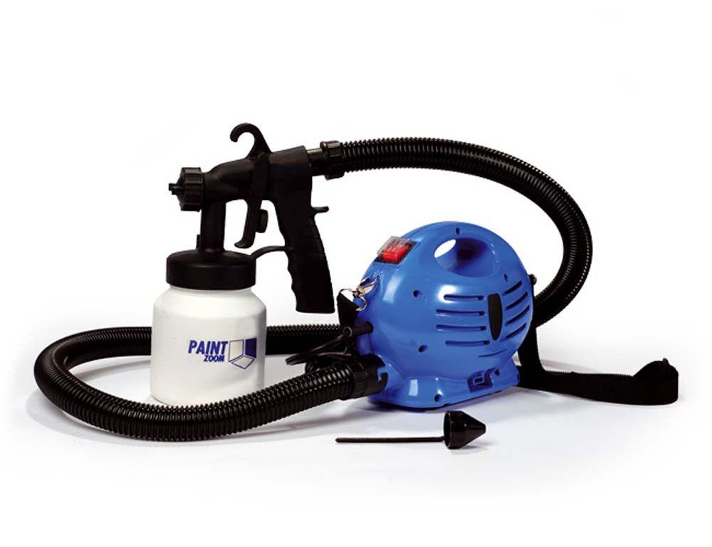 Paint Zoom Pistola Pintura Compressor Pulverizador Parede e Reservatorio Tinta Portatil 110V (MC40342)