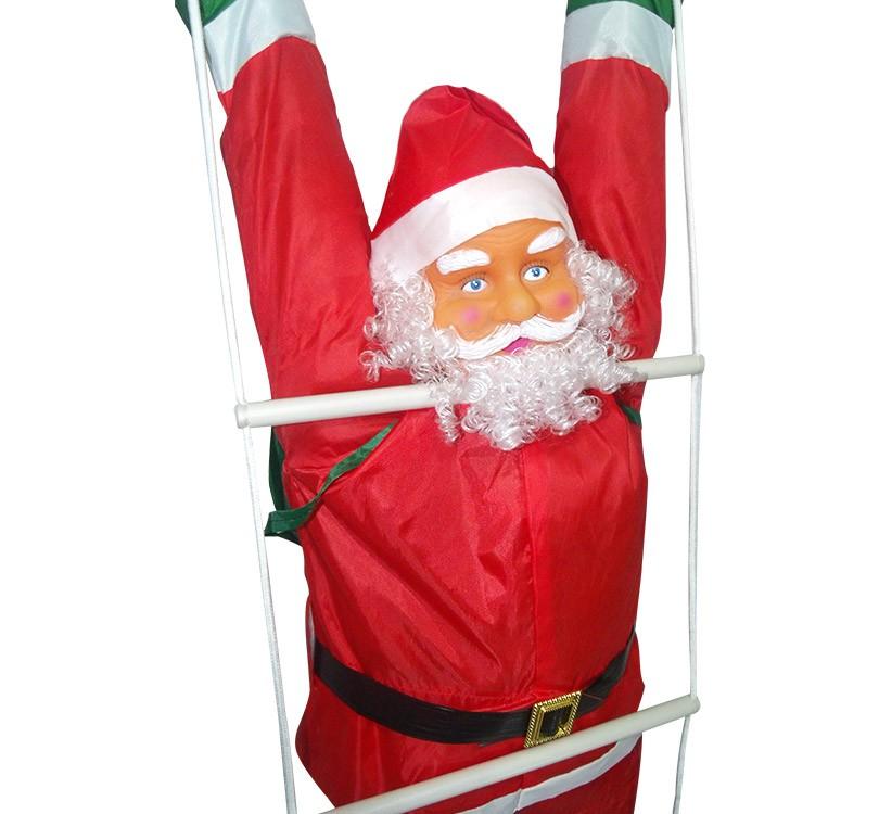 Papai Noel Escada Natal Enfeite Natalino Decoracao Escalador (BSL-36041-12)
