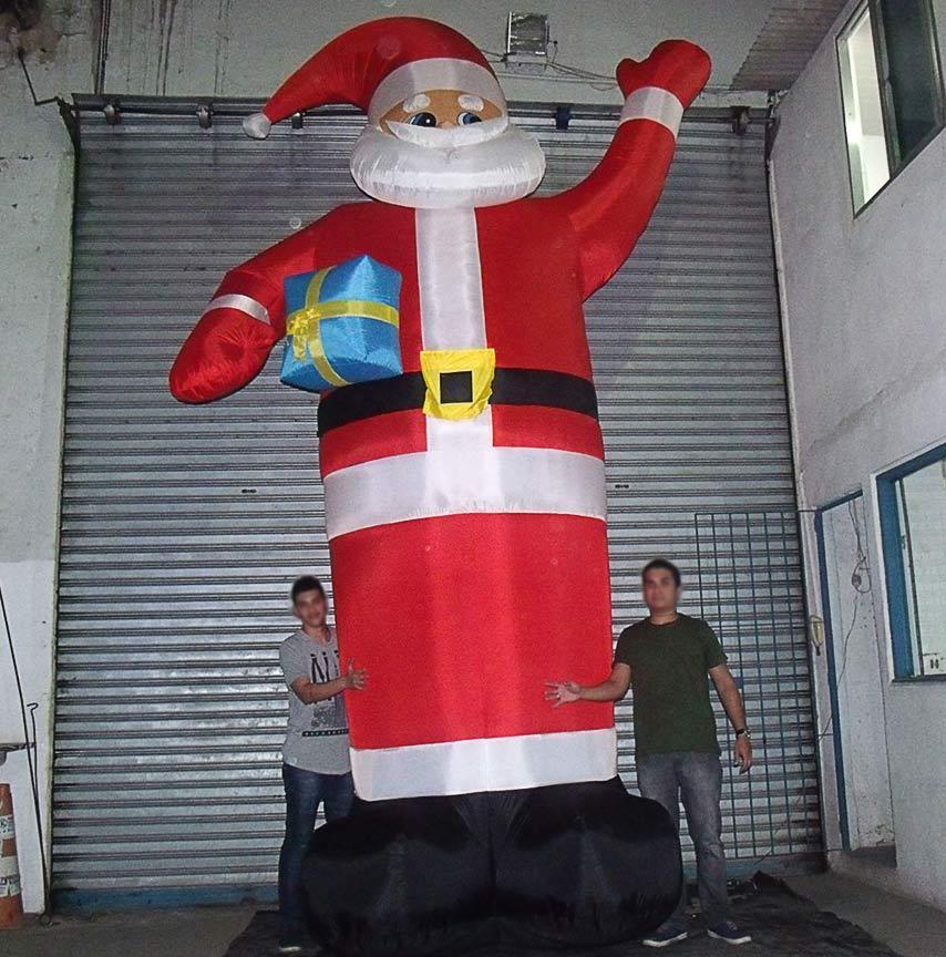 Papai Noel Inflavel Gigante 5 metros Natal Decorativo Casa Enfeite Natalino (bsl-36041-6)