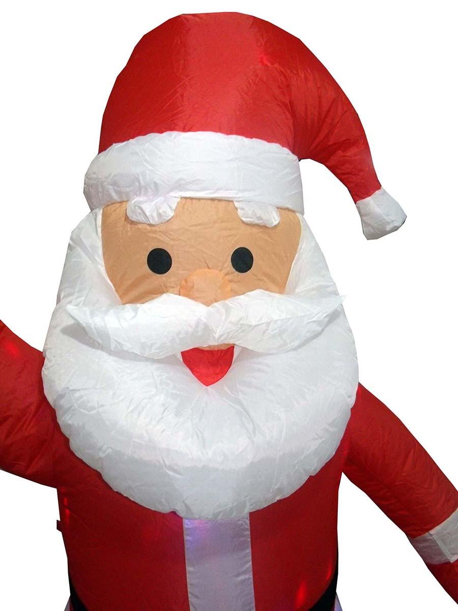 Papai Noel Inflavel Natal Grande 1.90m Para Decoracao Natalina Enfeite (bsl-36041-16 noel)