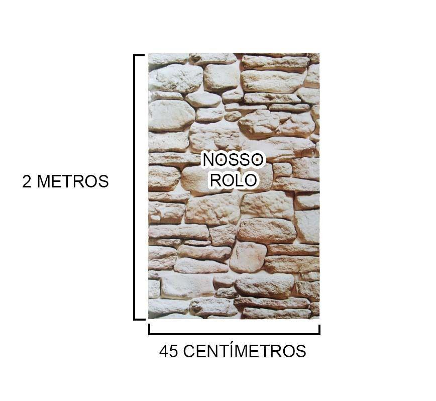 Papel Parede Kit Com 14 Rolos Adesivo Vinilico Canjiquinha (bsl-42079-1-A)