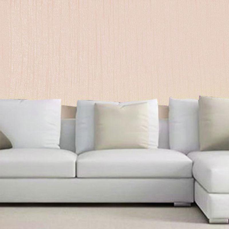 Papel Parede Texturizado Luxo Kit 4 Uni Lavavel Casa 10 metros x 53cm Rose