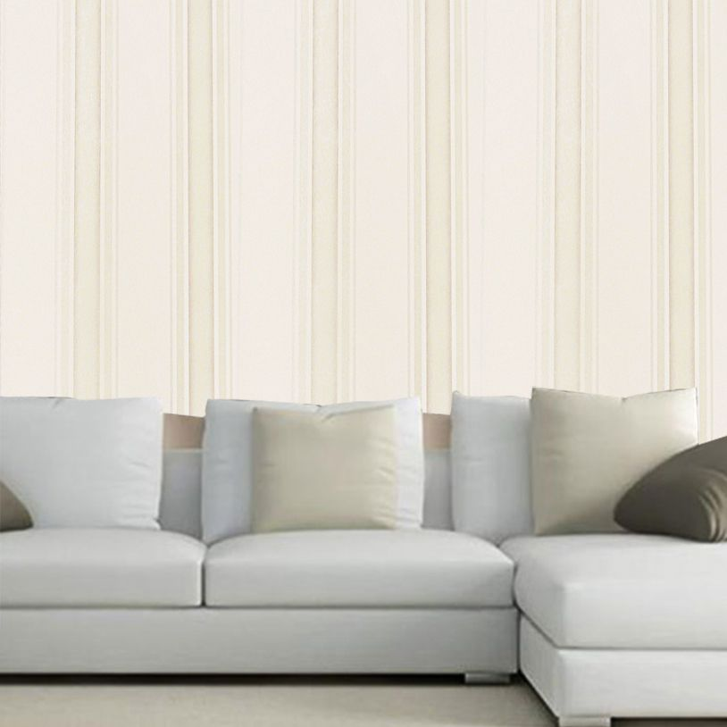 Papel Parede Texturizado Luxo Lavavel Kit 4 Uni Casa 10 metros x 53cm