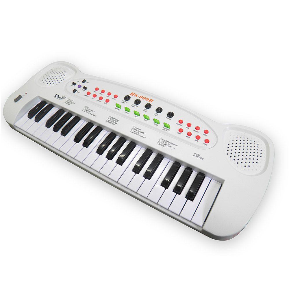 Piano Teclado Infantil Cantar Brinquedo Microfone Musical Educativo Crianca