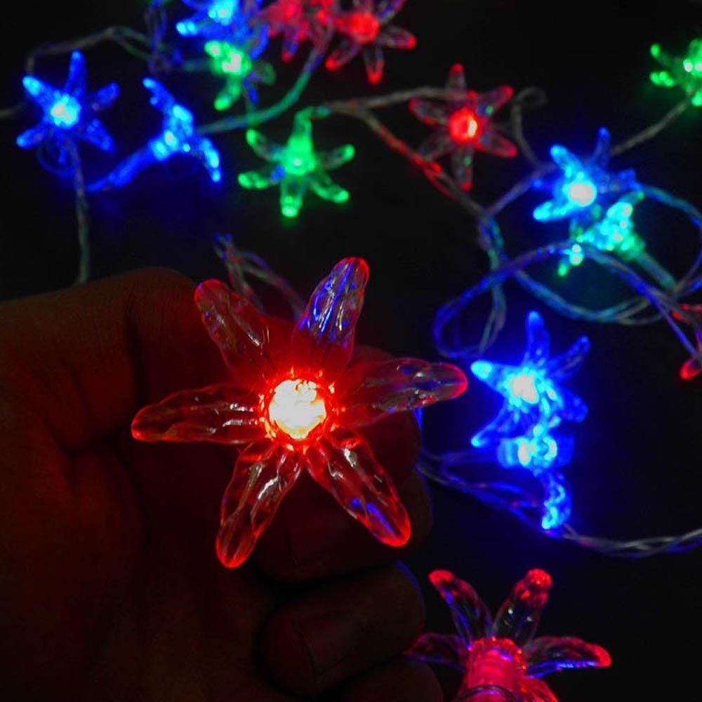 Pisca Pisca 40 Luzes de Leds Natal Decoração Enfeite Colorido Natalino