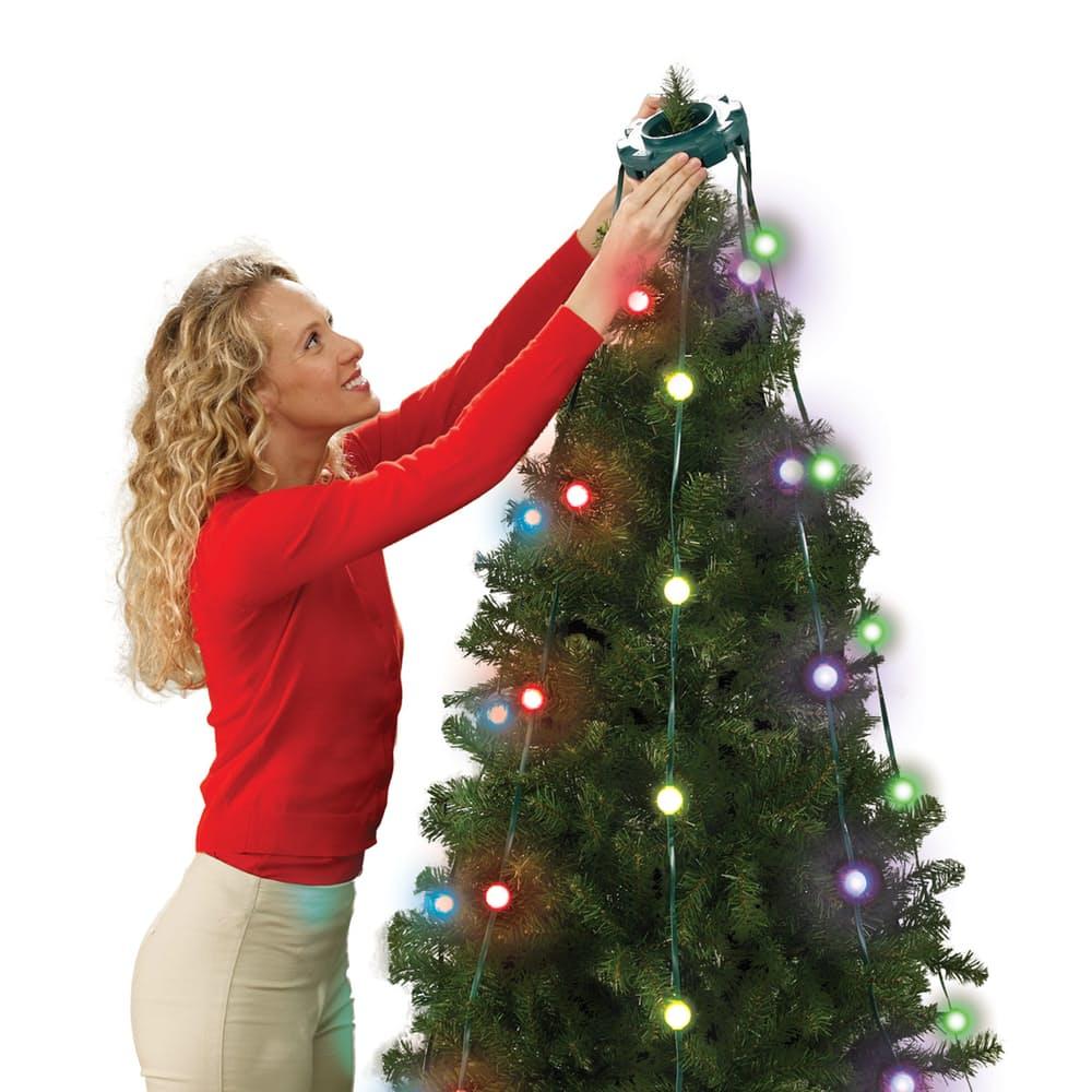 Pisca Pisca Bola RGB Arvore de Natal 48 Leds Natalino 16 Funcoes Tree Dazzler