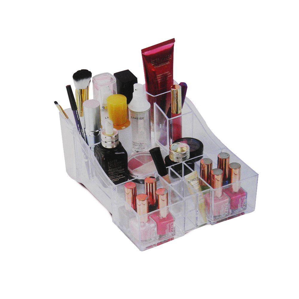 Porta Maquiagem Acrilico Higiene Pessoal Nicho Organizador
