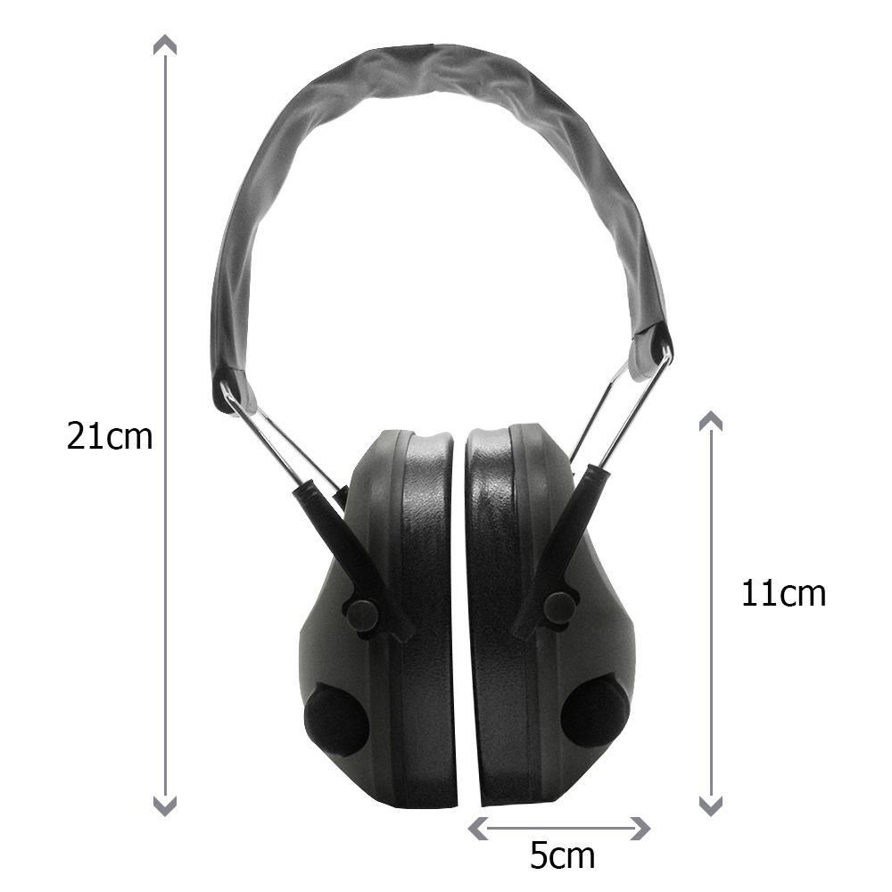 Protetor de Ouvido Equipamento de Segurança Abafador Ruidos e Som