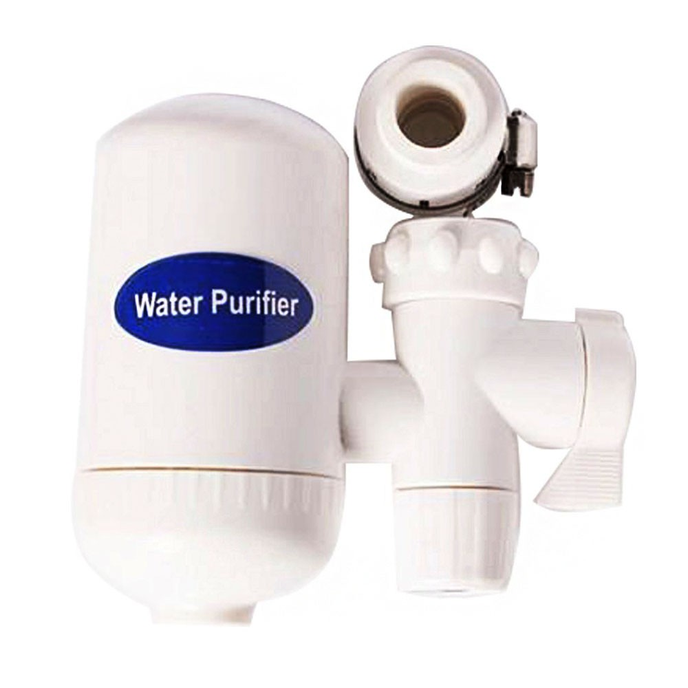 Purificador de Agua Filtro Torneira Pia Cozinha Carvao Ativado Ecologico Adaptador Universal