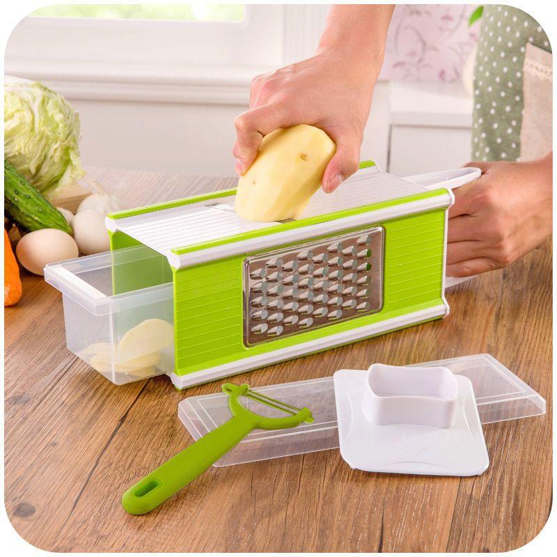 Ralador Multiuso Alimentos Cortador Fatiador Cozinha Descascador