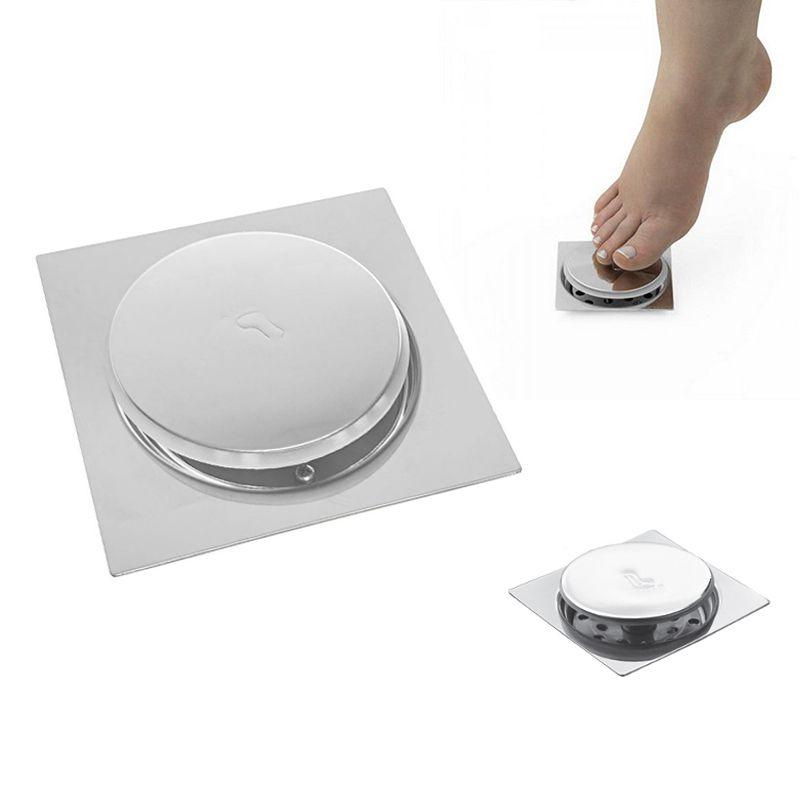 Ralo Click Inteligente Banheiro Aço Inox Pop Up Clic 10x10