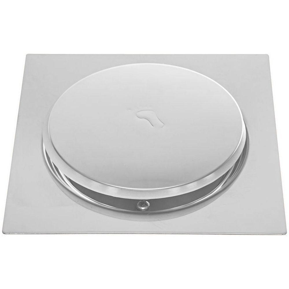 Ralo Inteligente Pop Up Click 15x15 Banheiro Aço Inox 10 Un.