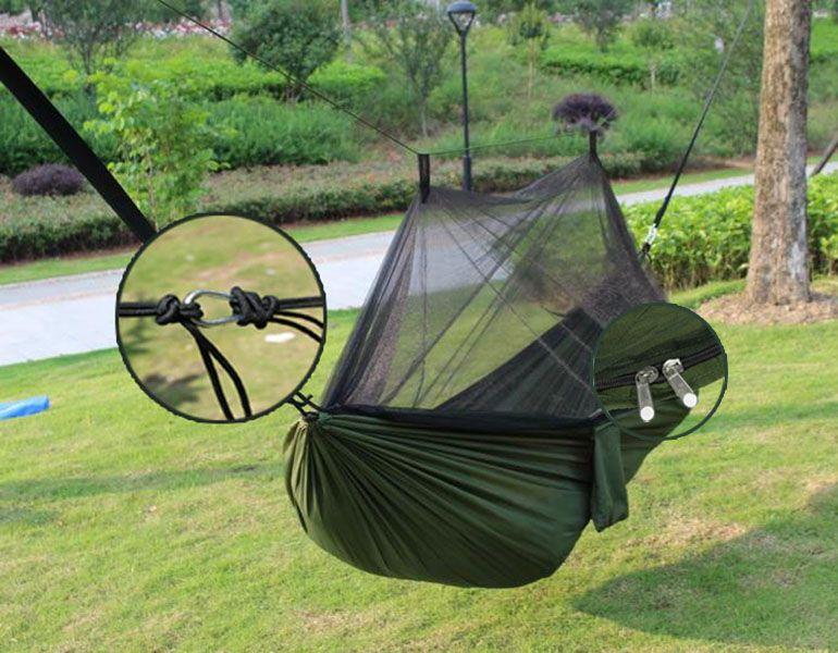 Rede Mosquiteiro De Descanso Viagem 150kg Camping Portatil (BSL-REDE-1)