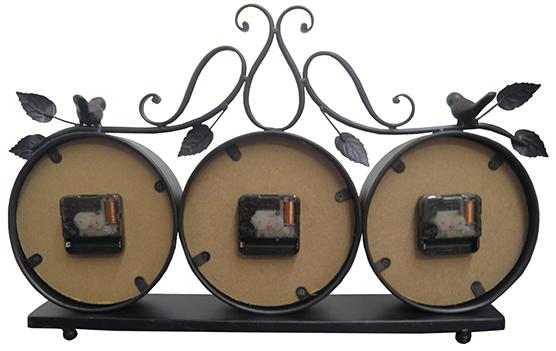 Relogio De Parede 3 Em 1 Vintage Retro Para Decoracao Casa Decorativo (XIN-09)