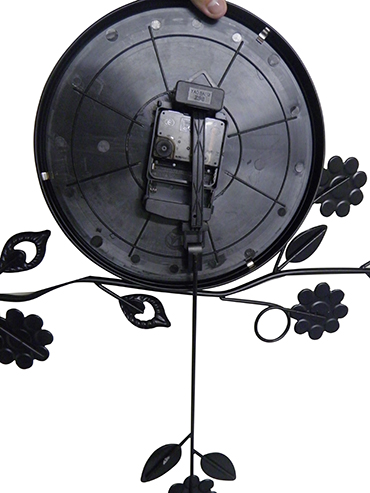 Relogio de Parede Com Pendulo Vintage Retro Decorativo