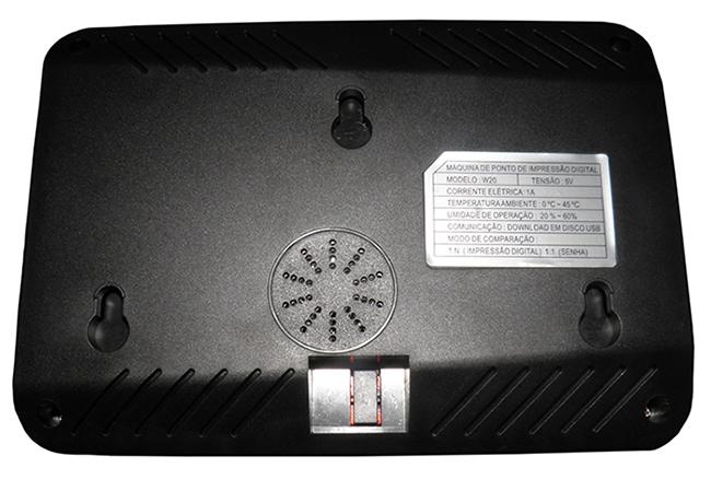 Relogio de Ponto Impressao Digital Eletronico Biometrico (EV-F631)