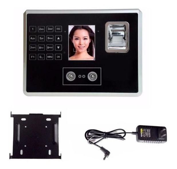 Relogio Leitor Facial E Biometrico Seguranca Ponto Digital