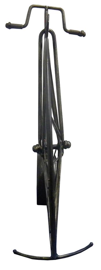 Relogio Vintage Modelo Bicicleta Retro de Mesa para Casa e Escritorio Preto (REL-30)