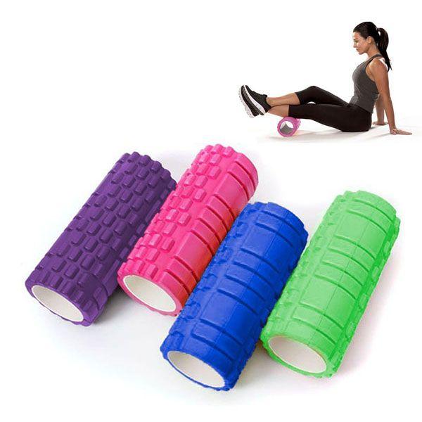 Rolo Massagem Musculacao Exercicio Academia Yoga  Miofascial Pilates (6475)