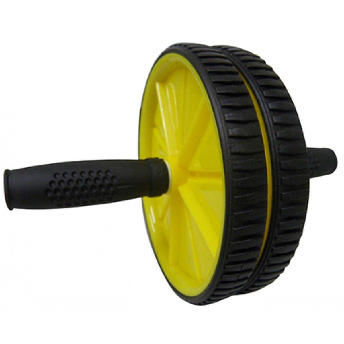 Rolo Roda Abdominal Exercicio Fisico Abdomem Musculo Amarelo (BSL-JS002)