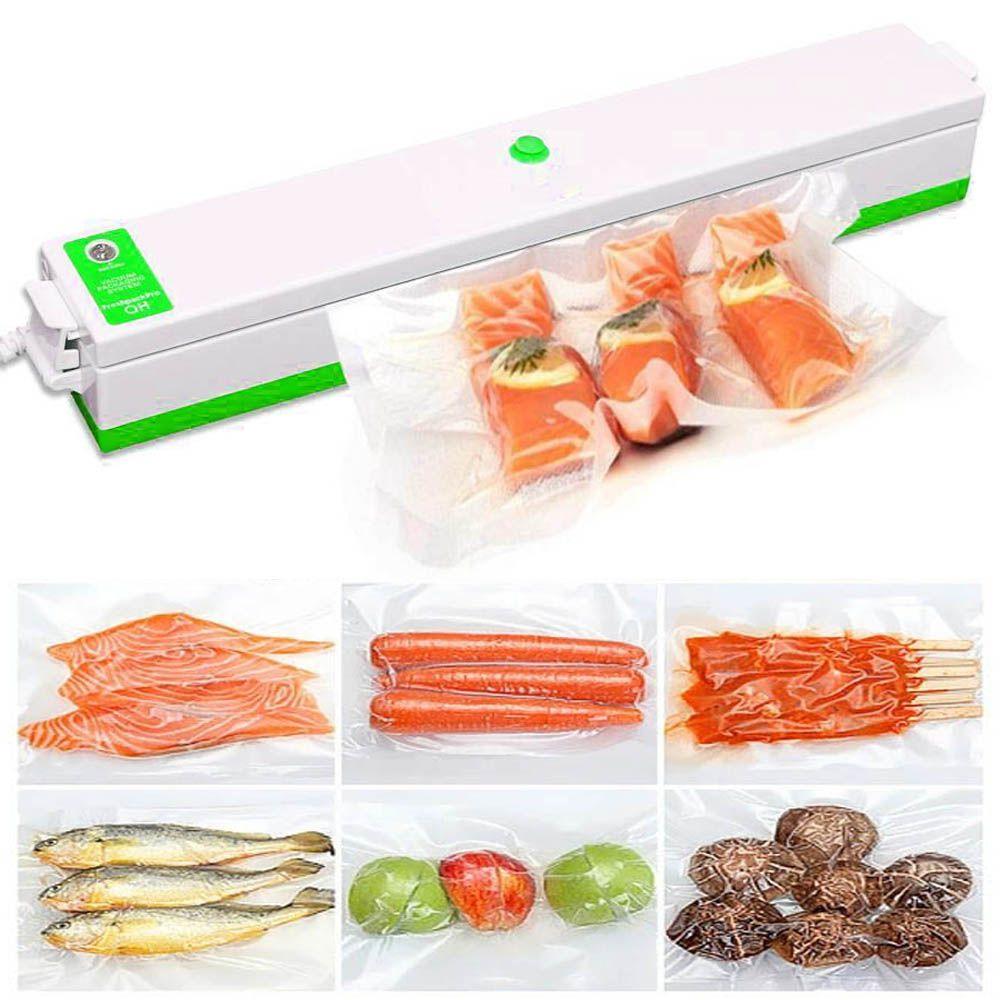 Seladora Eletrica Vacuo Embaladora 110v Termica Alimentos Acessorios