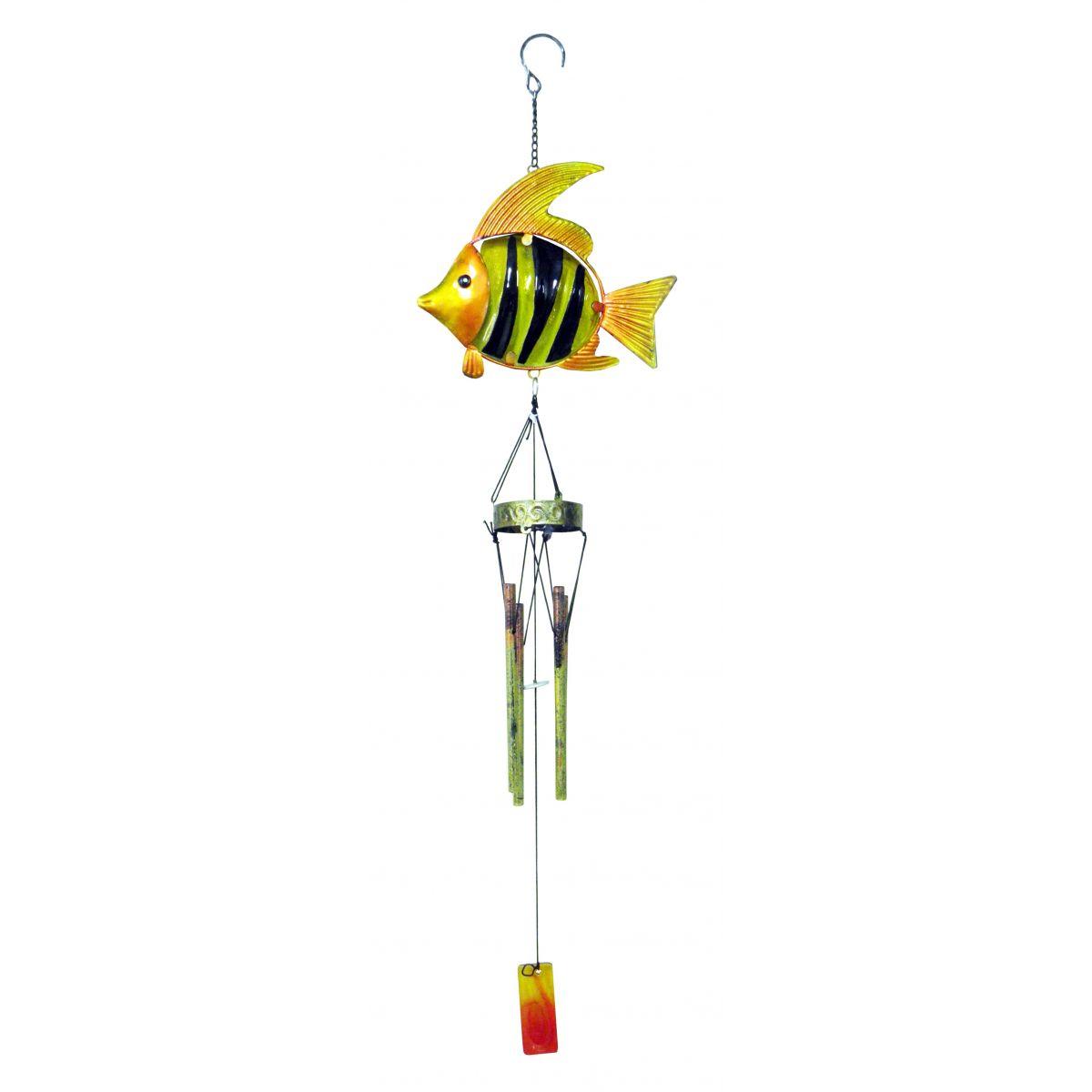 Sino Dos Ventos Relaxamento Forma de Peixe Amarelo (SIN-7)