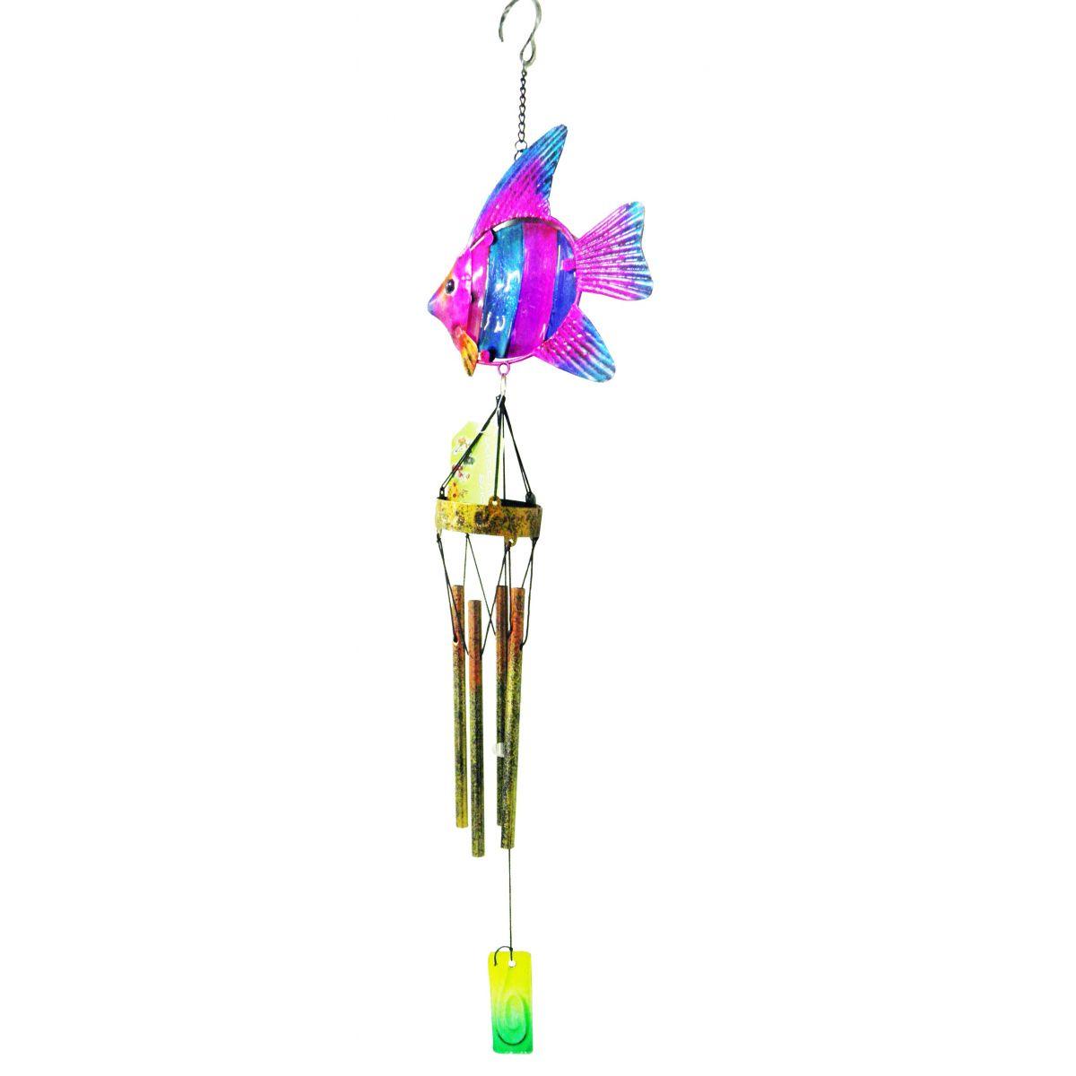 Sino Dos Ventos Relaxamento Forma de Peixe Rosa (SIN-10)