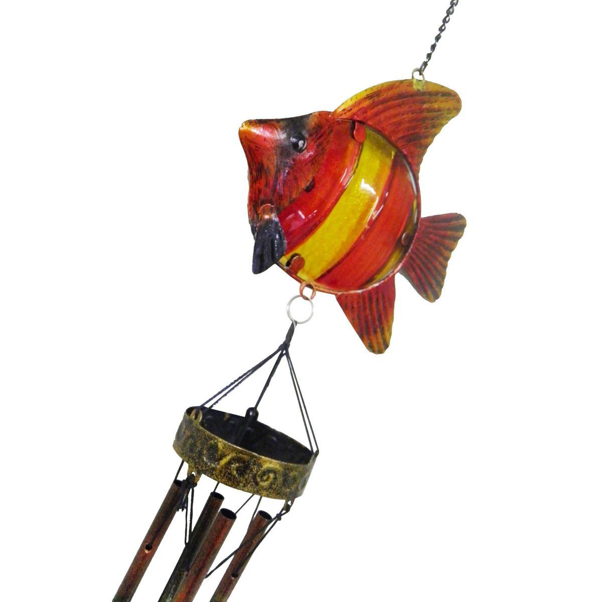 Sino Dos Ventos Relaxamento Forma de Peixe Vermelho (SIN-10)