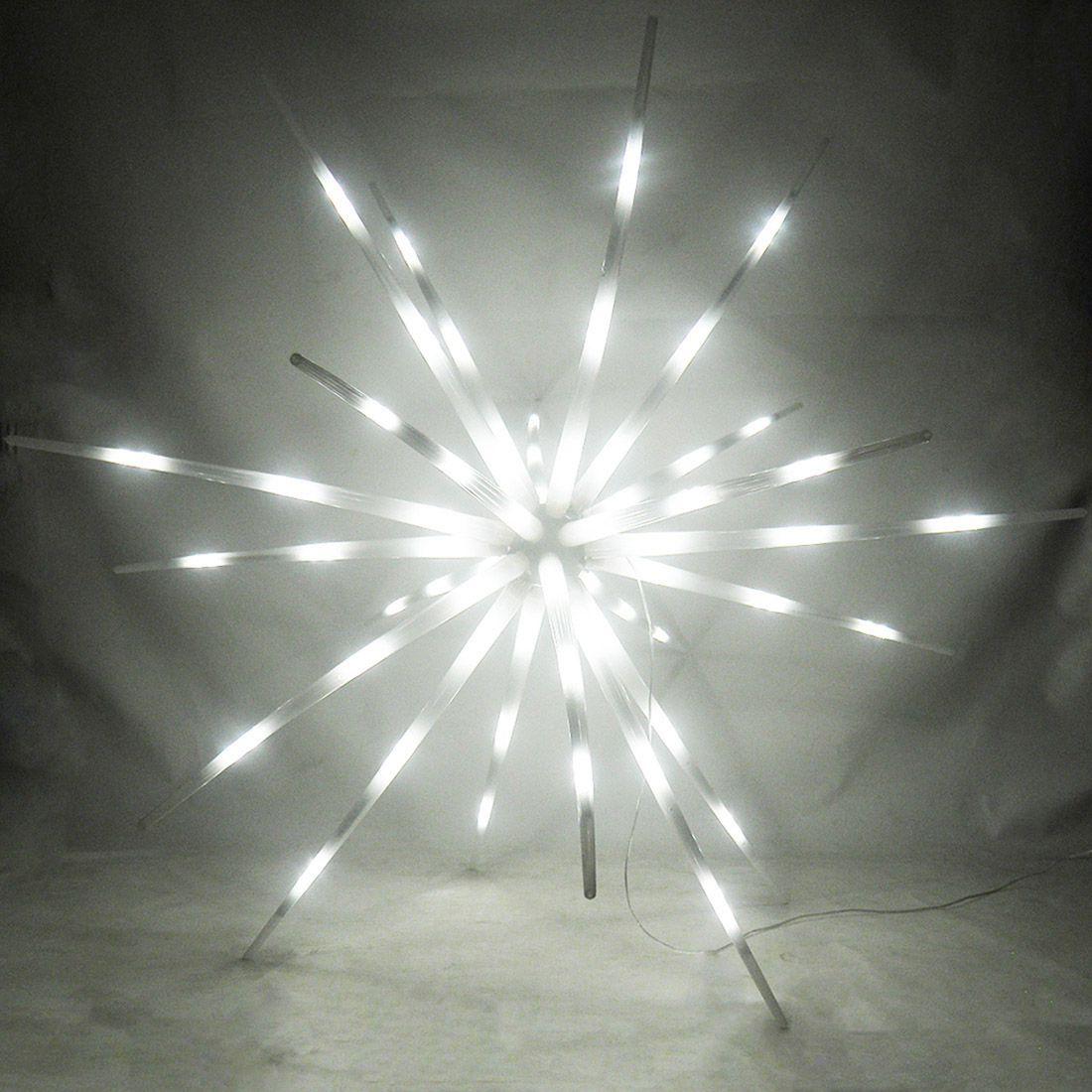 Sputnik Estrela 400 Leds Ourico Luz Natal Festa Dj Aniversarios Eventos Bivolt