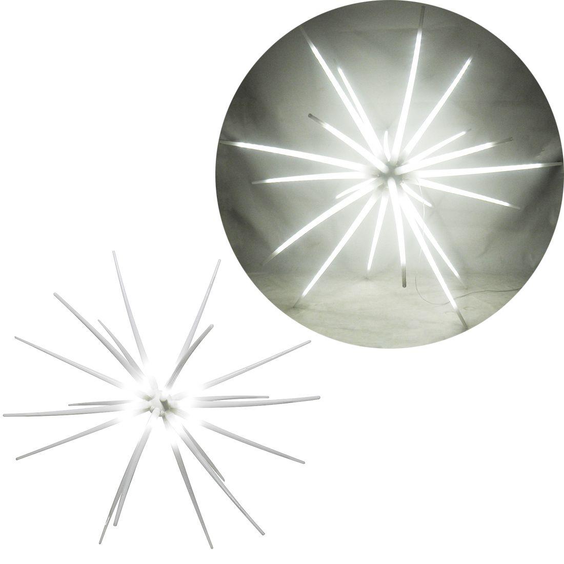 Sputnik Estrela 800 Leds Luz Ourico Natal Festa Dj Eventos Aniversarios Bivolt