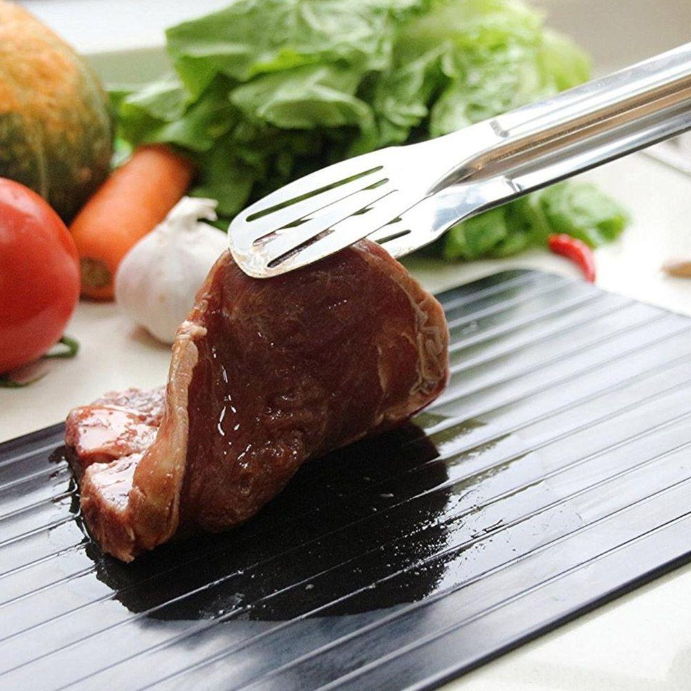 Tabua Descongelar Alimentos Natural Defrost Rapido Bandeja Carnes