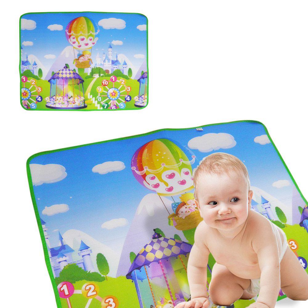 Tapete Bebe Crianca Portatil Termico Infantil Parque Educativo