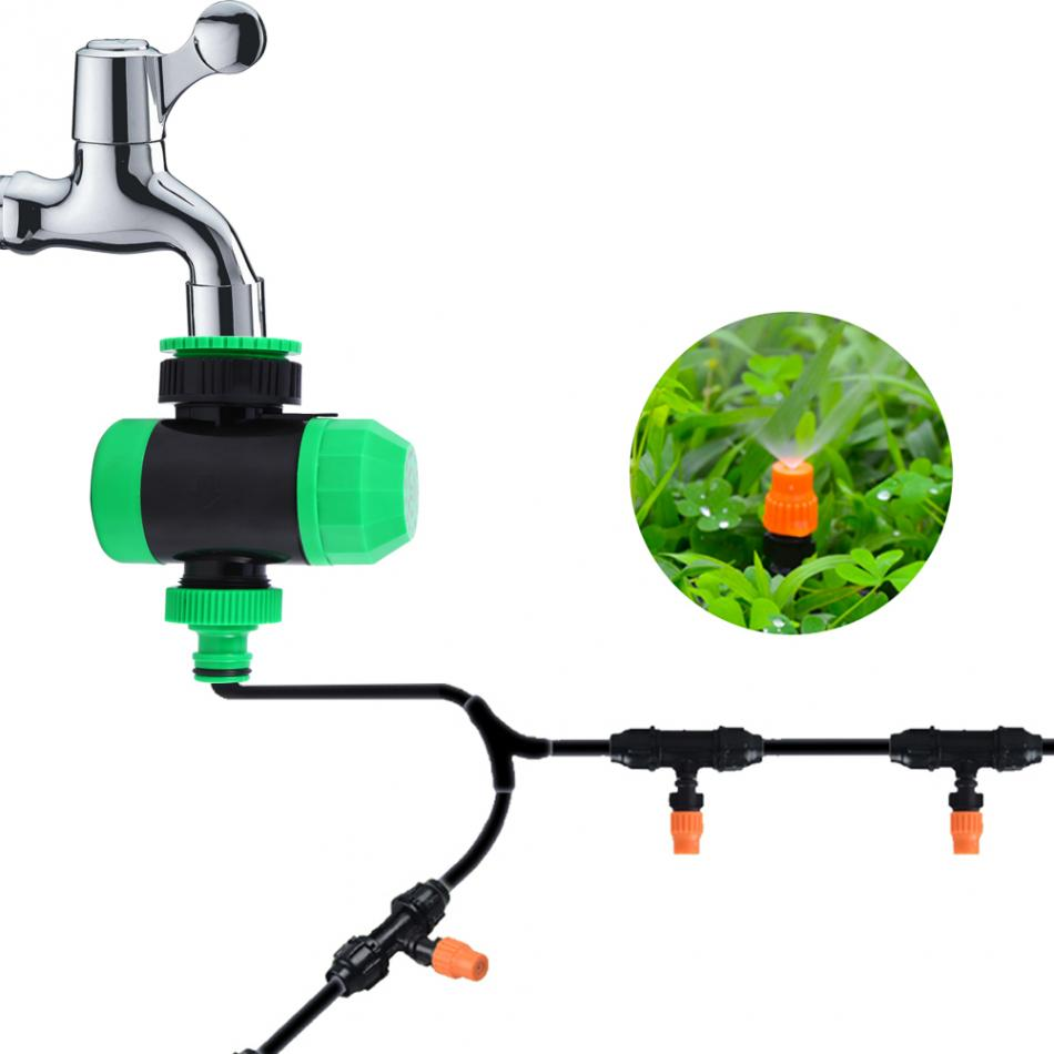 Temporizador Irrigação Mecanico Pressao Jardim Agua Mangueira 5 min a 2 horas