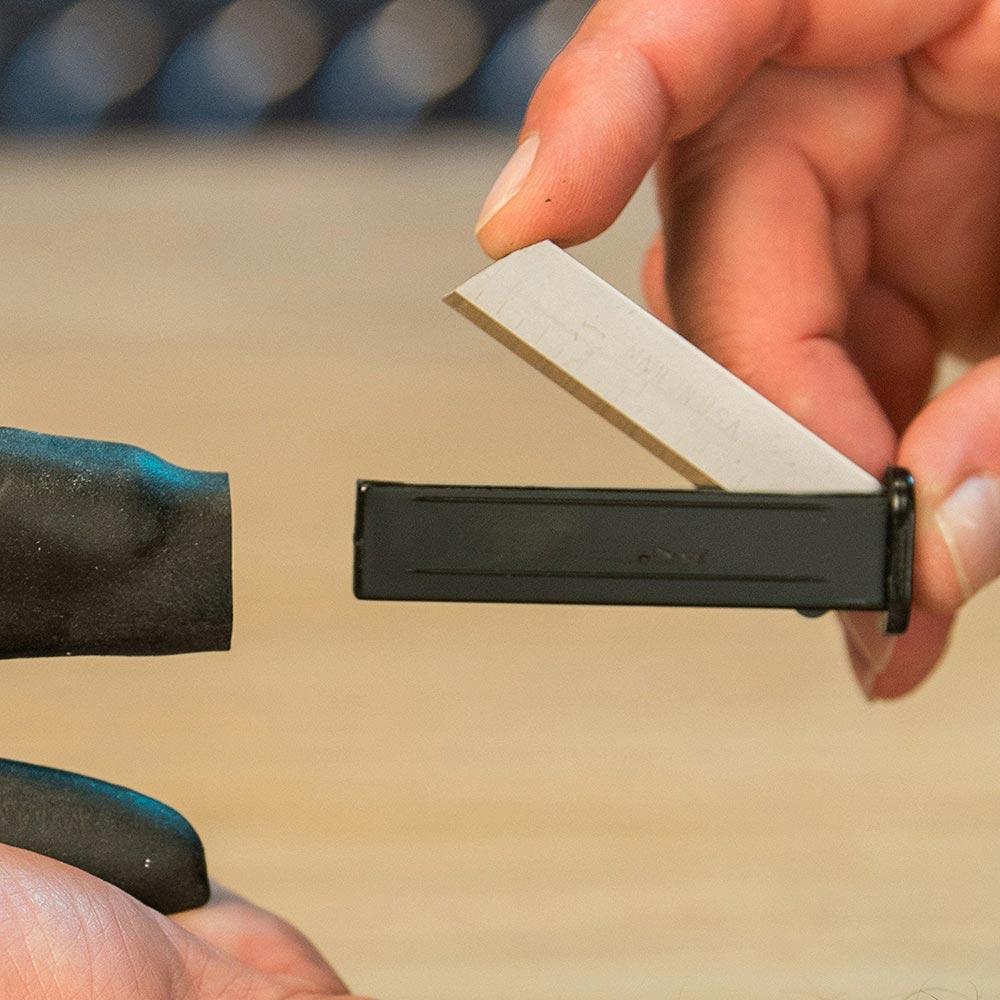 Tesoura Cortado 3 em 1Lamina Titanio Multi Corte Fio Plastico Couro (888426)