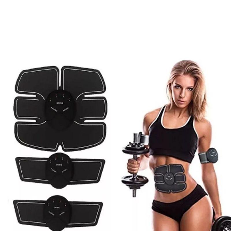 Tonificador Muscular 5 Em 1 Abdomen Pernas Bumbum Estimulo Eletrico Biceps Braços