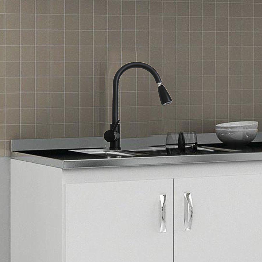 Torneira Goumet Pull Down Monocomando Agua Quente e Fria Bancada Cozinha