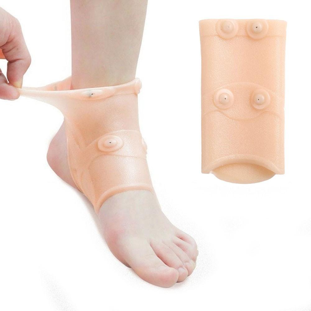 Tornozeleira Magnetica Elastica Articulaçao Ajustavel Pes Saude Alivia Dores Ortopedica Tornozelos Terapia