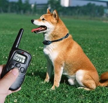 Treinador Adestramento Sonoro Eletrico Coleira Eletronica Para Caes Cachorro Anti Latido Pet (BSL-HEL-4)