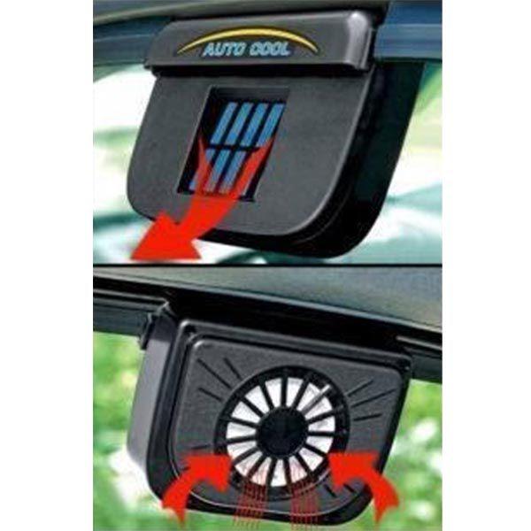 Ventilador Para Carros Energia Solar Automotivo Janela Carro (BSL1911)