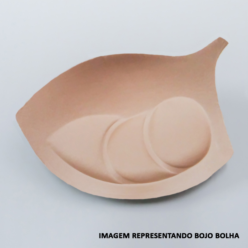SUTIÃ DE BOJO RENDADO COM ARCO E BOLHA