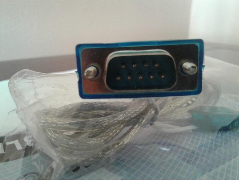 Cabo Conversor Serial RS232 (9 pinos) USB